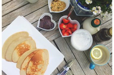 4 Ingredient Protein Packed Pancakes